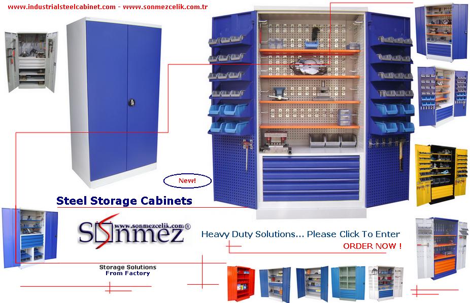 Steel Tool Storage Cabinets